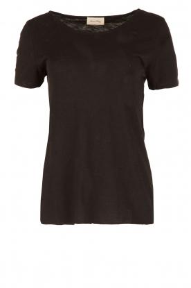 American Vintage | Ronde hals T-shirt Jacksonville | zwart