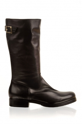 Noe |  Leather boot Nucca | black