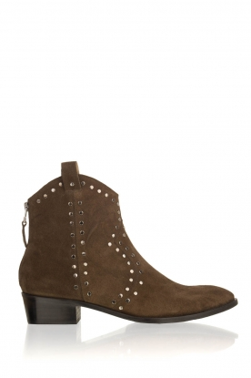 Toral |  Suede ankle boots Carolta | green