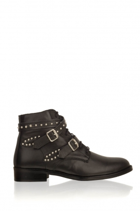 Toral |  Leather ankle boots Horma | black