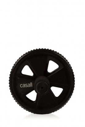 Casall | Buikspier trainingswiel | zwart