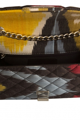 Rough Studios | Mini Bandita tas | geel/zwart