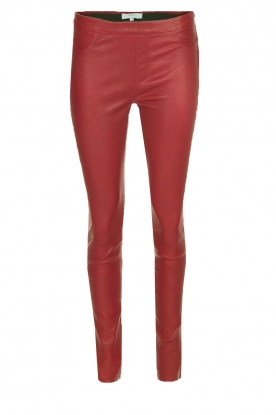 Dante 6 |  Lamb leather leggings Tyson | red