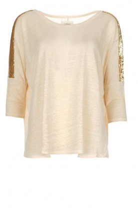 Not Shy | Linnen top Lucie | beige