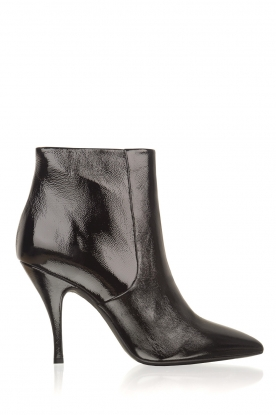 Morobé |  Leather ankle boots Lio | black