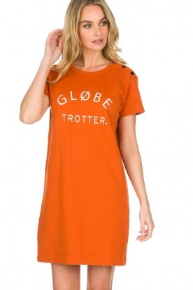 Amatør | Jurk Globe | oranje