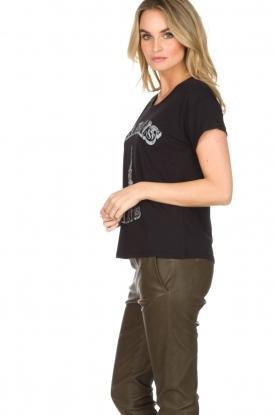 Set | T-shirt Marals Paris | zwart