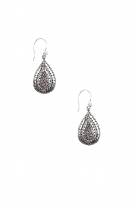 Close to Zen |  925 sterling earrings Wild Flowers | silver