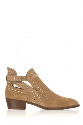 Toral |  Ankle boots with studs Fiby | Beige