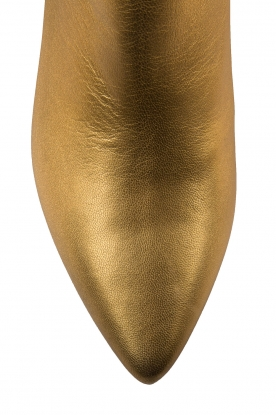 Toral | Metallic enkellaarzen Lalia | Goud