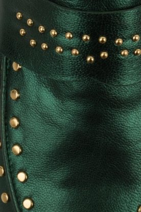 Toral | Loafers met gouden studs Alisa | groen