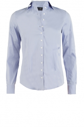 Souad Feriani |  Blouse Basic | light blue