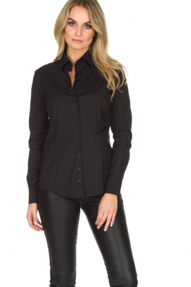 Souad Feriani |  Blouse Basic | black