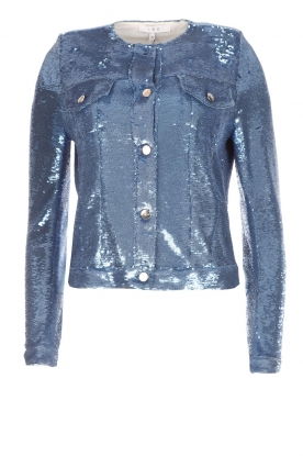 IRO |  Sequin jacket Dalome | blue
