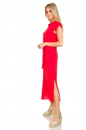 Aaiko | Maxi-jurk Nika | rood