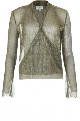 Dante 6 | Overslag blouse Fushion | goud