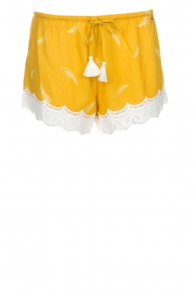 Melt | Shorts Alisa | geel