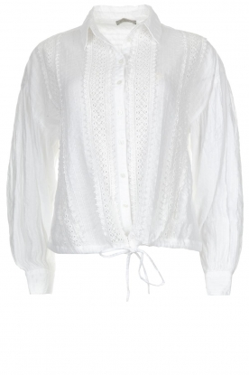 Hunkydory |  Blouse Ruby Swing | white