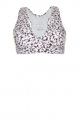 Varley |  Sports bra Brooks crop | animal print