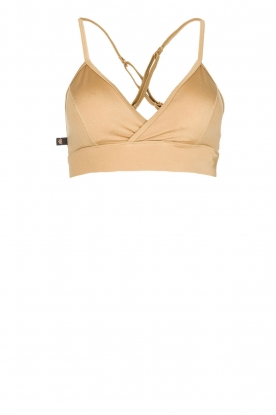 L'URV |  Sports bra Shimmer Me | gold