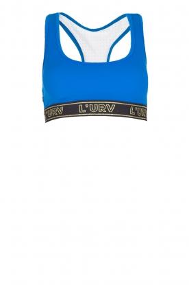 L'URV | Bralette Energise Me | blauw