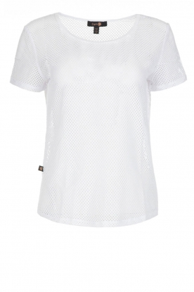 L'URV | Mesh top Bring it | white