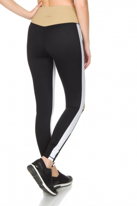 L'URV | Sportlegging Burn It up | zwart