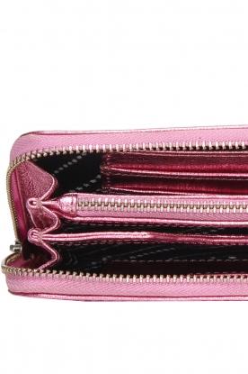 Becksöndergaard | Metallic portemonnee Lobo Glitz | roze