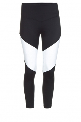 L'URV |  Sports leggings Race Ready | black white
