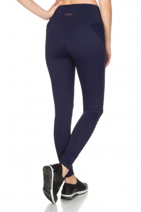 L'URV | Sportlegging Race Ready Moto | blauw