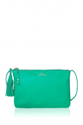 Becksöndergaard | Leather shoulder bag Lymbo | green