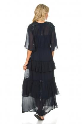 Munthe | Maxi-jurk Personality | blauw