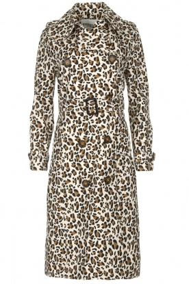 Essentiel Antwerp | Trenchcoat Ranger | dierenprint
