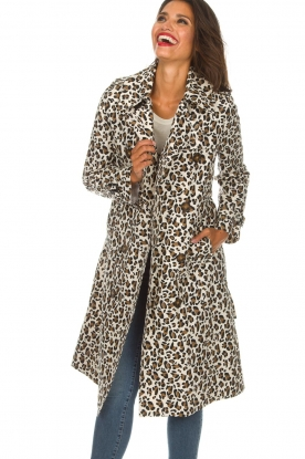 Essentiel Antwerp |  Trench coat Ranger | animal print
