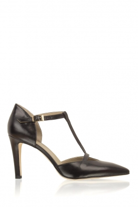 Noe |  Leater pumps Nero | black
