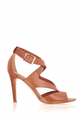 Noe |  Leather pumps Nabila | brown