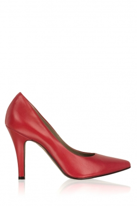 Noe |  Leather pumps Nicole | Red
