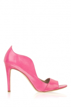 Noe |  Leather pumps Noom | pink