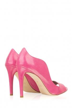 Noe | Leren pumps Noom | roze