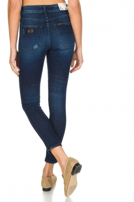 Lois Jeans | Skinny jeans Celia | donkerblauw