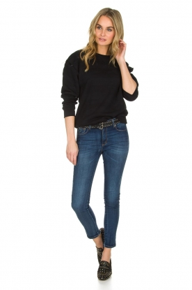 Lois Jeans | Cropped jeans Cordoba High Rise | Blauw