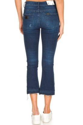 Lois Jeans | Mid-rise flared jeans Marbella | donkerblauw