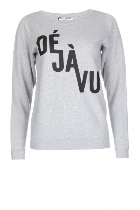 French Disorder |  Luxurious sweater Déjà vu | light grey