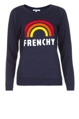 French Disorder |  Luxurious sweater Frenchy | Navy blue