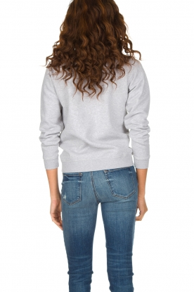 French Disorder   Luxe sweater Frenchy   Lichtgrijs
