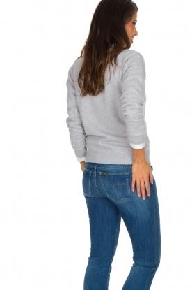 French Disorder | Luxe sweater Tout Schuss à | Lichtgrijs