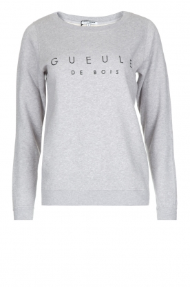 French Disorder |  Luxurious sweater Gueule De Bois | Light grey