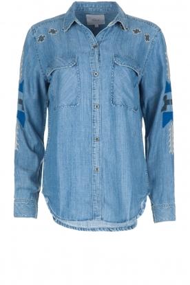 RAILS | Spijkerblouse Griffon Medium Vintage | blauw