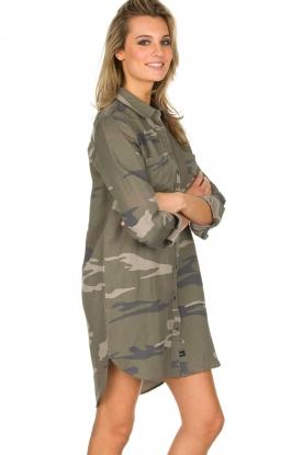 RAILS | Legerprint jurk Julian Sage Camo | groen