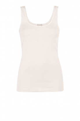 Hanro |  Tanktop Seamless Cotton | white